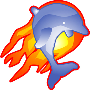 Flaming-Dolphin